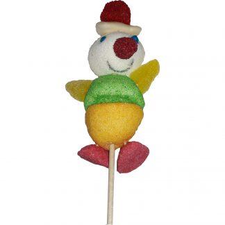 brochette Clown guimauves confiseries gélifiées 70gx15