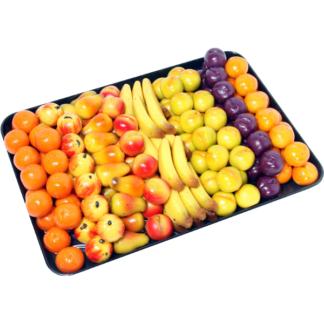 PÂTE D'AMANDE ASSORTIMENT PETITS FRUITS DOUX 15g (vrac 2kg) 15004
