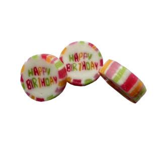 Bonbons Rock - Happy Birthday, Goût Cassis , vrac 1.5Kg