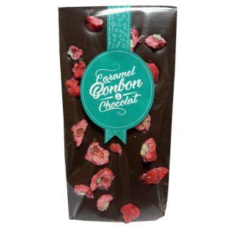 TABLETTE CHOCOLAT LAIT PRALINES ROSES 110g x 15