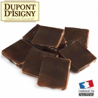bouchée caramel chocolat dupont d'isigny