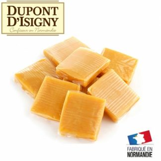 bouchée caramel vanille dupont d'isigny