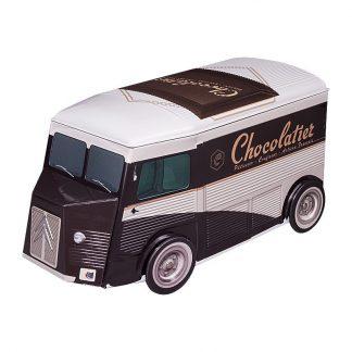 boite métal tube citroën modèle chocolatier
