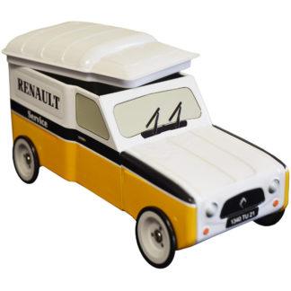 boite métal 4L renault modèle garage