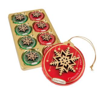 Palet à suspendre garni de chocolats - Les petits cadeaux de table x16