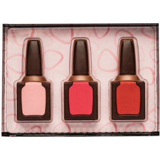 COFFRET VERNIS A ONGLES CHOCOLAT