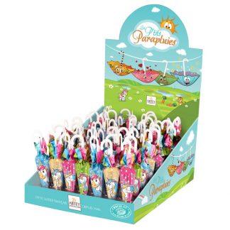 parapluies chocolat lait licorne 12g présentoir x70