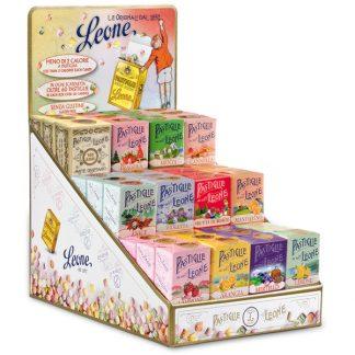 Présentoir pastilles assortiment fruit 30g x 36 boîtes