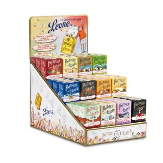 Présentoir pastilles assortiment aromatique 30g x 36 boîtes Léone