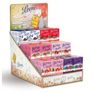 présentoir pastilles fruit rouge assortiment 30g x 36 boîtes