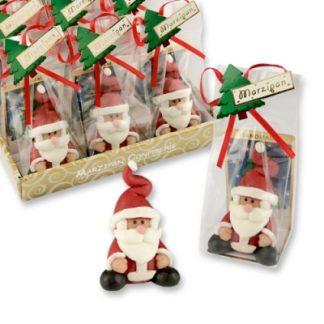 Pâte d'amande Père Noël - Les petits cadeaux de table x12 (7619)