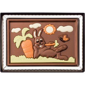 MOULAGE LAPIN CHOCOLAT PÂQUES