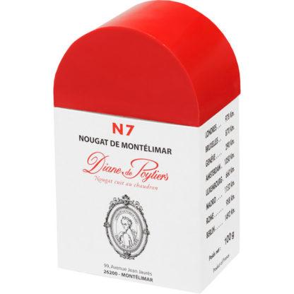 borne N7 nougat Montélimar 200G x3 Diane de Poytiers
