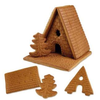Kit maison pain d'épices pour construire la maison de Hänsel et Gretel