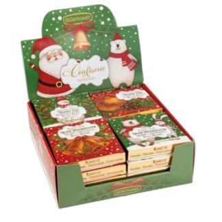 Étui de Noël garnis de napolitains- Les petits cadeaux de table x16